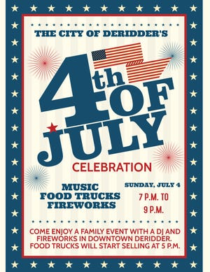 The event will feature food trucks, a DJ and fireworks.