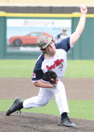 Alan Covarrubias has loomed tall on the mound for the Bartlesville Doenges Ford Indians during summer American Legion play. He recently signed a letter of intent to play for Oklahoma Wesleyan University.