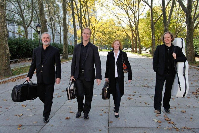 The American String Quartet will be the first group to grace the stage at the Cheboygan Opera House in more than a year. The group will play several classical numbers on the four stringed instruments, violins, a viola and a cello.