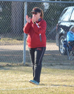 Jodi Brewbaker officially stepped down as Onaway's varsity softball coach on Tuesday. During her 20-season tenure with the program, Brewbaker guided the Cardinals to 10 Ski Valley Conference titles, seven district crowns and a regional championship. The Cardinals also earned Division 4 state runner-up under Brewbaker in 2010.