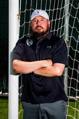 Monterey's Simon Hernandez is the Lone Star Varsity boys soccer coach of the year.