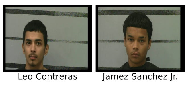 Arrest warrants were served on Leo Contreras and James Sanchez Jr. for their roles in the May 9 shooting death of 69-year-old Justice Williard Jr., at his home in the 2800 block of North Quaker Avenue.
