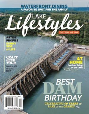 July/August 2021 Lake Lifestyles magazine.