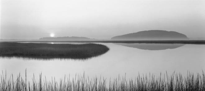 "Dorothy Kerper Monnelly, ""Stillness at Dawn 1, Ipswich, MA, September"""