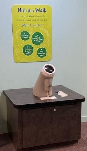 New Wentzscope at the Children's Museum of Oak Ridge