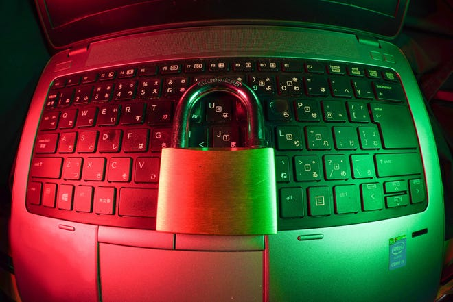 How do you ensure security online?
