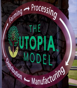 The heart of Utopia Plastix's business model is designed to support farmers, manufacturers and ultimately the environment.