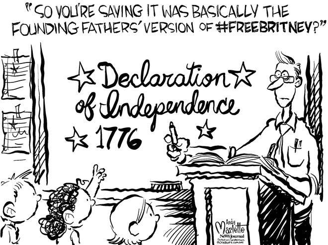 Cartoon for July 2