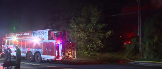Fire rips through house in Braintree.