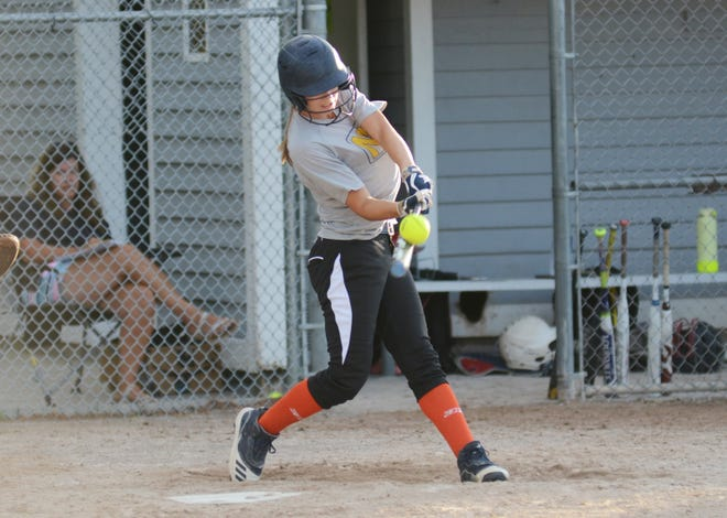 Kenzie Bromley helped the Blaze rebound with a homer and a triple this week.