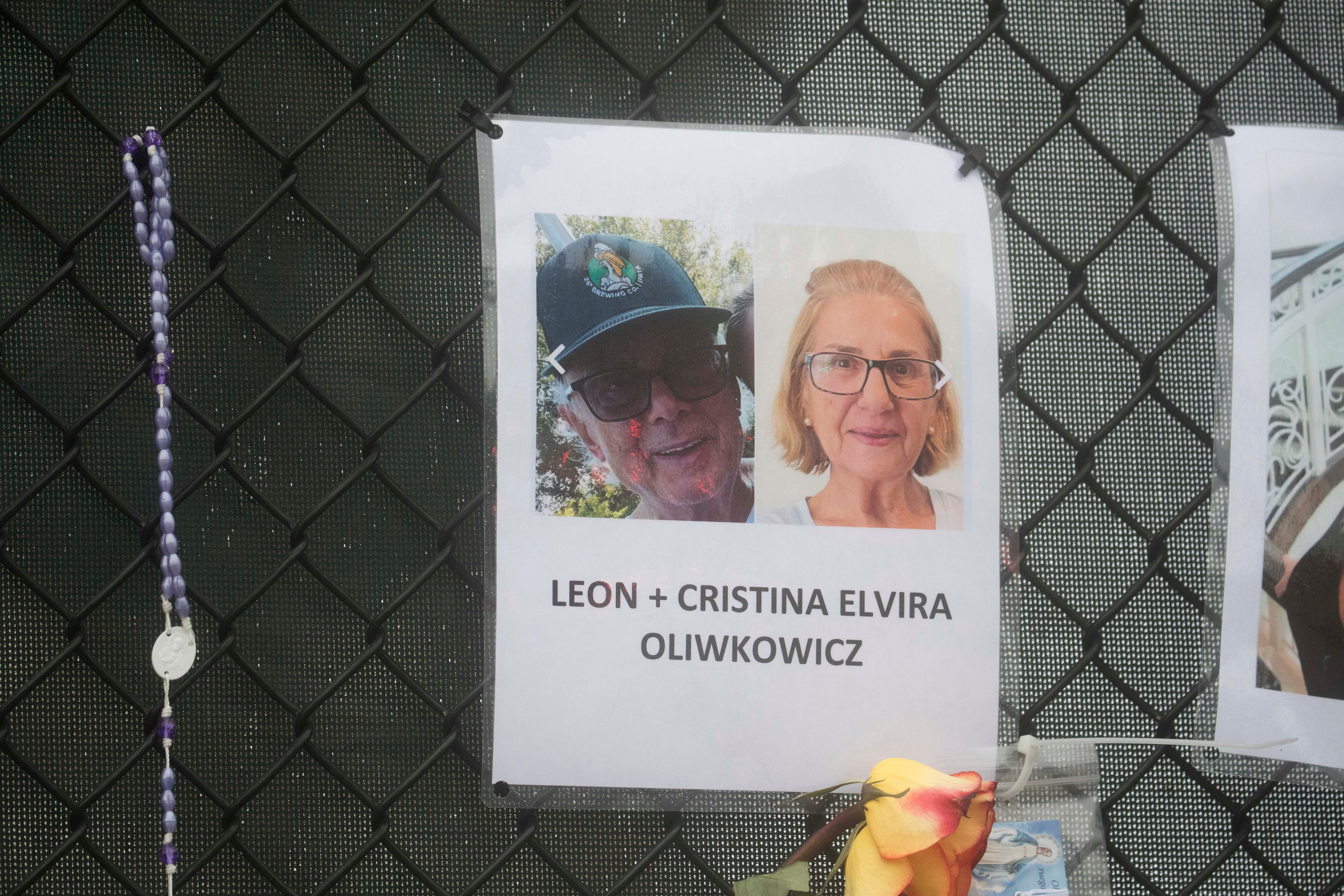 Leon Oliwkowicz and Cristina Beatriz Elvira (aka Cristina Oliwkowicz) lived in Unit 704 of the Champlain Towers South. Their bodies were identified days after the Surfside, Florida, building collapsed on Thursday, June 24, 2021.