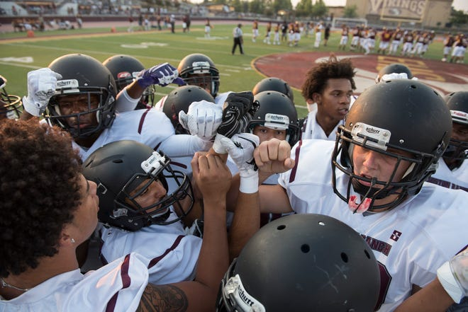 Weston Ranch before a game against Edison High on Sept. 1.