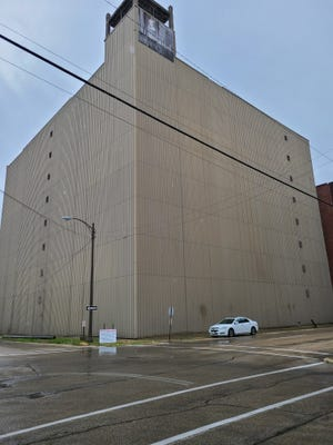 This building at 103-111 S. Liberty Ave. in Freeport is the site of a proposed cannabis craft growing operation.