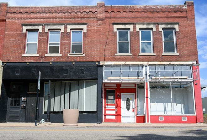 The former Chantilly Lace, 106 Seventh St., Rockford remains vacant Wednesday, June 30, 2021, after it was shut down during a May 2019 police raid investigating the illegal sex trade industry.