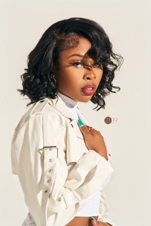 Chicago-based rapper, singer and songwriter Tink performs Saturday at the Morris Performing Arts Center in South Bend.