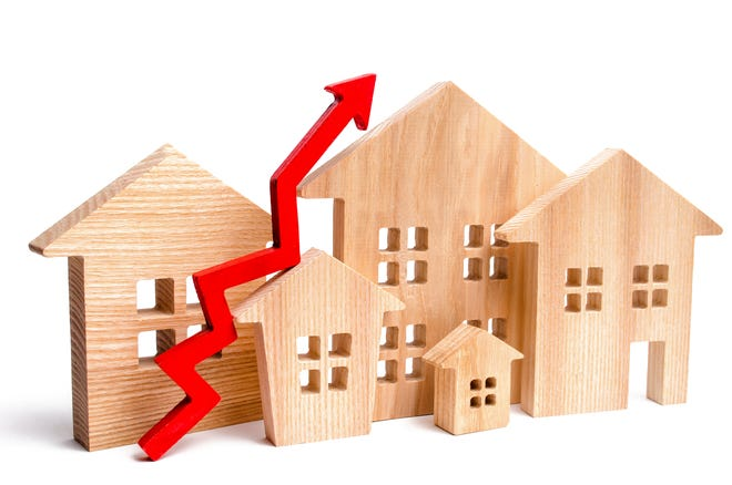 Housing prices and rents are rising astronomically.