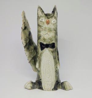 Ceramic art by Derek Larson. At Gallery 209.