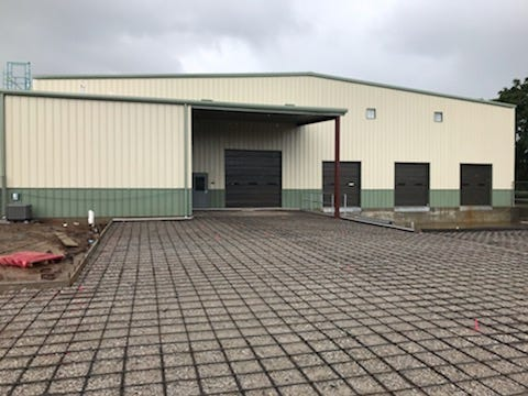 South Central Industries is expecting to complete its new warehouse project in August.
