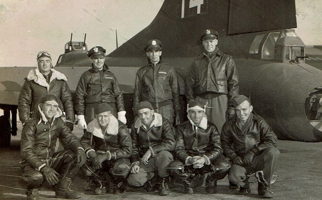 Bill Gleason (Dad) standing 2nd from left.