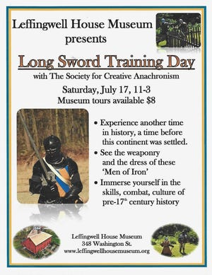 Long Sword Training Day
