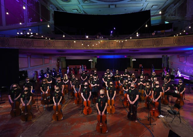 The Topeka Cello Collective will perform at 7 p.m. July 7 at the Jayhawk Theatre.