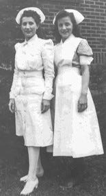 Garnet and Betty in 1944