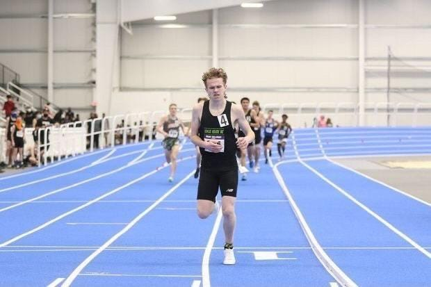 Like he did during indoor meets, Marcus Reilly of Northbridge left the field behind in the freshman mile Wednesday at The Outdoor Nationals.