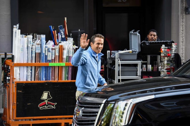 """""""Free Guy,"""" with Ryan Reynolds: Filmed in part in downtown Worcester in spring 2019."""
