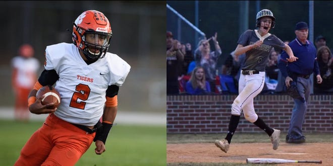 South View's Cedavion Wimbley and Gray's Creek's Kylie Aldridge were named the Fayetteville Athletes of the Year.