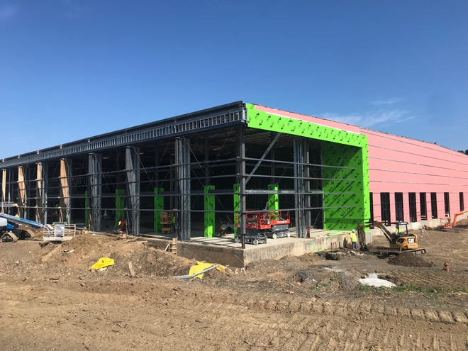 Construction on the Peak Innovation Center continues June 28, 2021. Construction on Peak started in January 2020with$13,724,046 allocated from the 2018 millage funds. There has been $3,780,525 inadditionalfundingallocated forconstruction, which brings the totalallocated constructionfunding to $17,504,571.