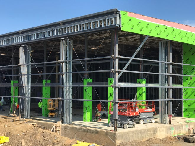 About $6.5 million more than originally expected, the Peak Innovation Center's most recent cost comes to$19.076million, with a completion date pushed from this fall to January 2022.