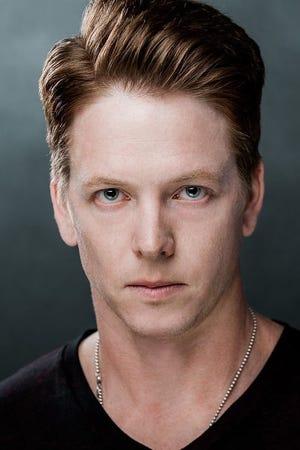 Portrait of Iowa-born actor Kraig Dane.