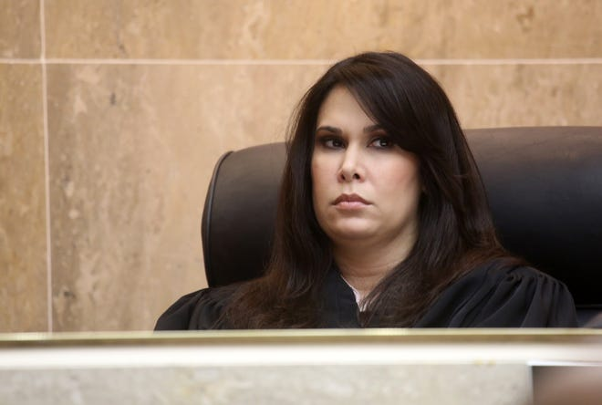Judge Shalina Kumar, shown in court at the Oakland County Courthouse in Pontiac, Mich., Thursday  June 20, 2013, has been nominated by President Joe Biden for federal promotion.