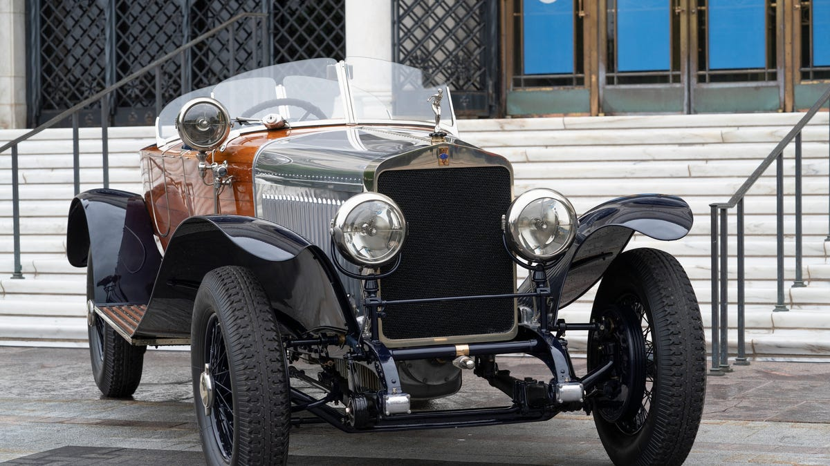 Prestigious Concours d'Elegance kicks off the return of summer events for auto lovers