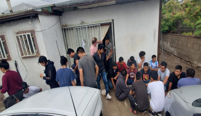 Thirty-five migrants were discovered by U.S. Border Patrol agents working with the El Paso Station Anti-Smuggling Unit on June 28th.