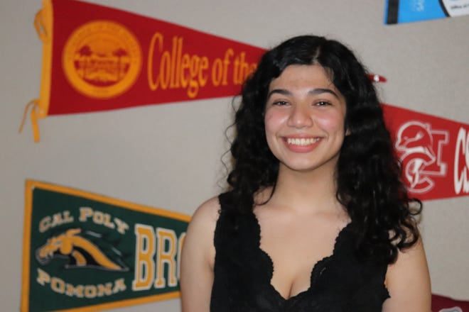 Adriana Torres is Desert Mirage High School's class of 2021 valedictorian and a dual high school senior and second-year student at College of the Desert with a 4.0-plus GPA