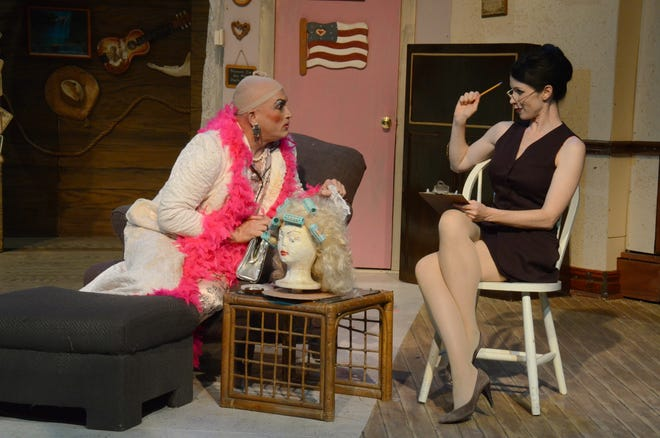 Michael Hadley and Se Layne perform in Sordid Lives. Palm Canyon Theatre is bringing back the Del Shores' cult favorite Sept. 24-Oct. 3.