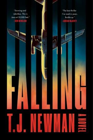 """T.J. Newman, a former Changing Hands Bookstore employee from Mesa, wrote thriller novel """"Falling"""" while working full time as a flight attendant."""