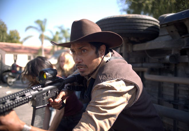 "Tenoch Huerta as Juan in ""The Forever Purge."""