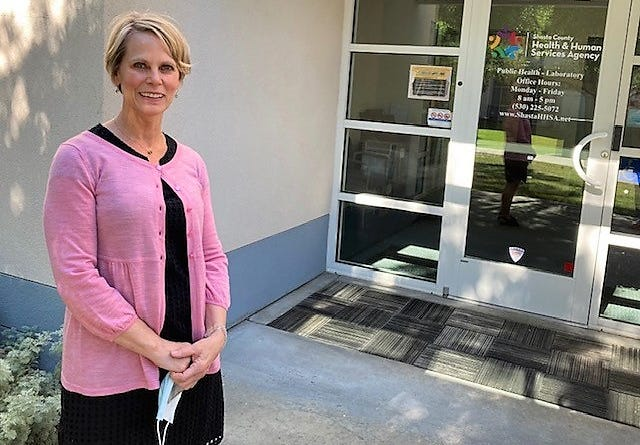 Dr. Karen Ramstrom is the health officer for the Shasta County Health & Human Services Agency.