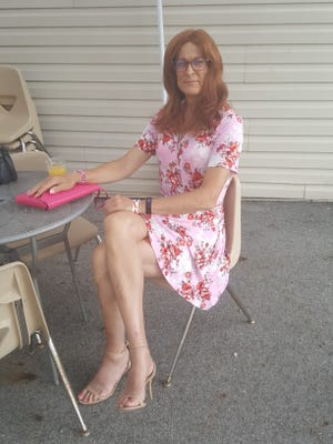 Joanna Keller, 66, loves pink. She will take any opportunity to incorporate the color into her outfit.