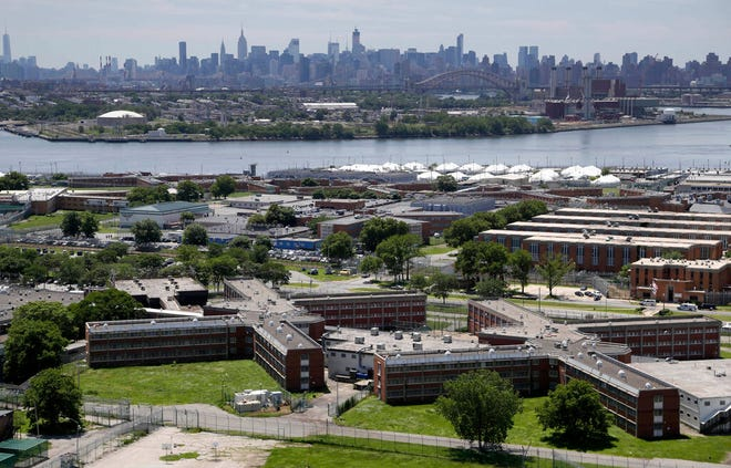 New York plans to close the Rikers Island jail complex by 2027.