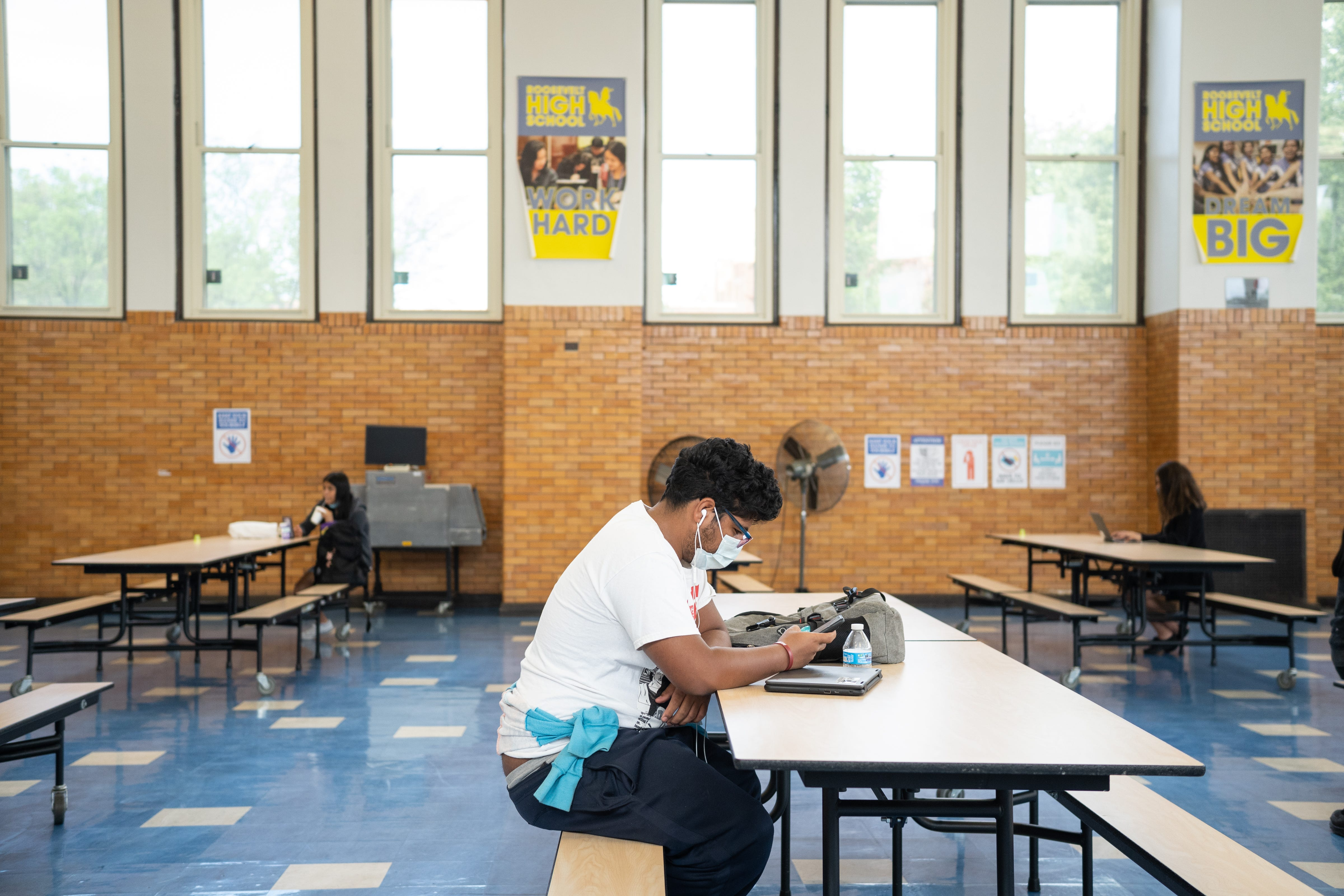 Nathaniel Martinez continued to log into his classes, but struggled to stay engaged.
