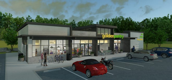 Golden Pantry released this rendition of its new store in Bishop, which is expected to open by the end of the year.
