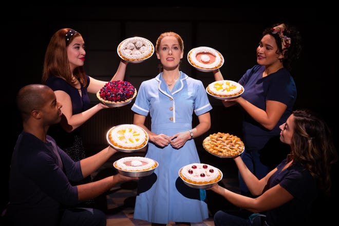 """The musical """"Waitress"""" will reopen the Broadway in Akron series at E.J. Thomas Hall in October."""