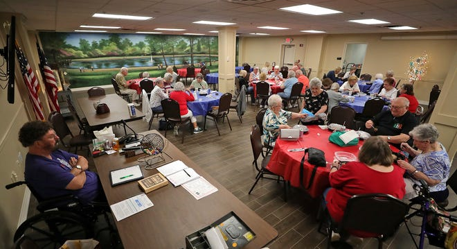The Macedonia Senior Center drew a large crowd for the first event since the pandemic forced the group to stop gathering.