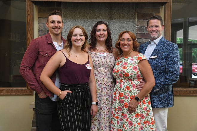 The Rev. Dainiel Doty with his wife Amy, at right, and their three children, from left, Sean, Kaetlyn and Kristian.