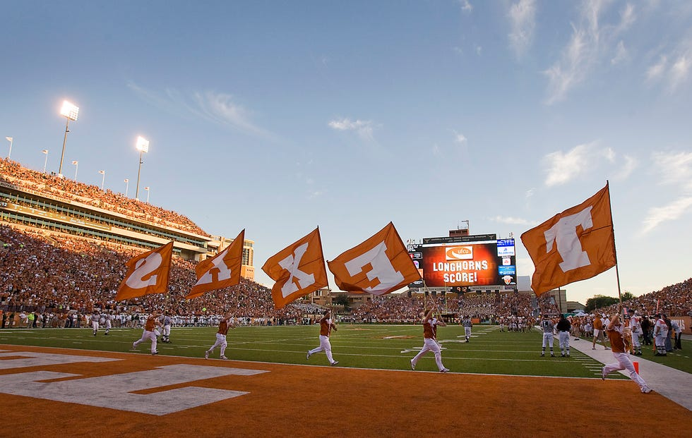 College football, especially at major schools such as Texas, was already big business. But more and more states have raised the stakes by passing name, image and likeness laws to help student-athletes profit from their celebrity. Now the NIL changes are nationwide.