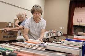 The annual Friends of Rodman Public Library used book sale will begin Aug. 7 at Alliance Neighborhood Center.