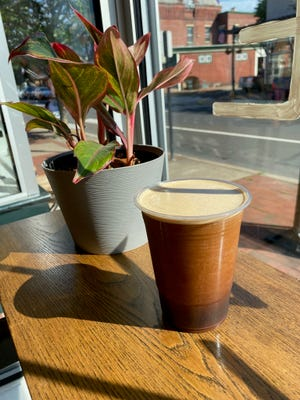 Try the Nitro Hopped Cold Brew at Calm Water Coffee Roasters in Bristol.